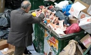 I segni della crisi, la spazzatura diventa supermarket