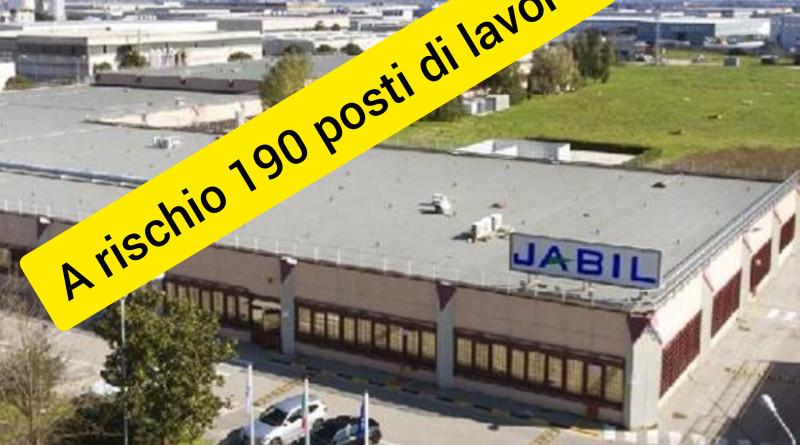 Marcianise, Jabil stoppa confronto con il ministero a rischio 190 posti di lavoro